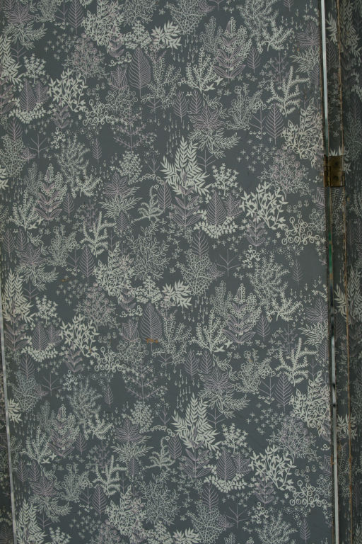 Large 1940s Italian Lithographed Wallpaper Screen at 1stdibs 512x768