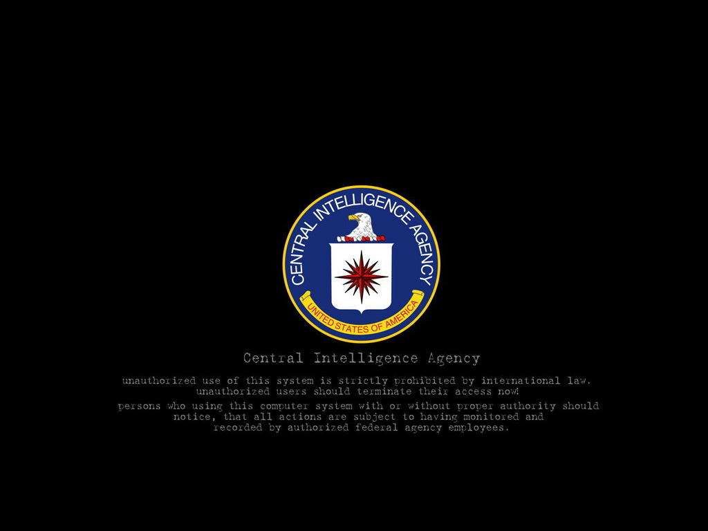 Cia Grs Wallpaper: Warning Wallpaper HD