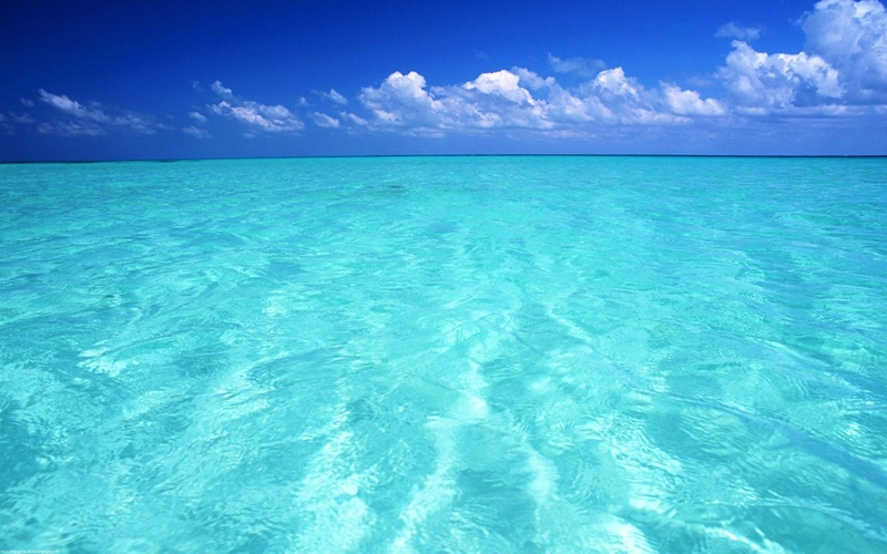 blue ocean seascapes 1920x1200 wallpaper – Nature Oceans HD Desktop ...