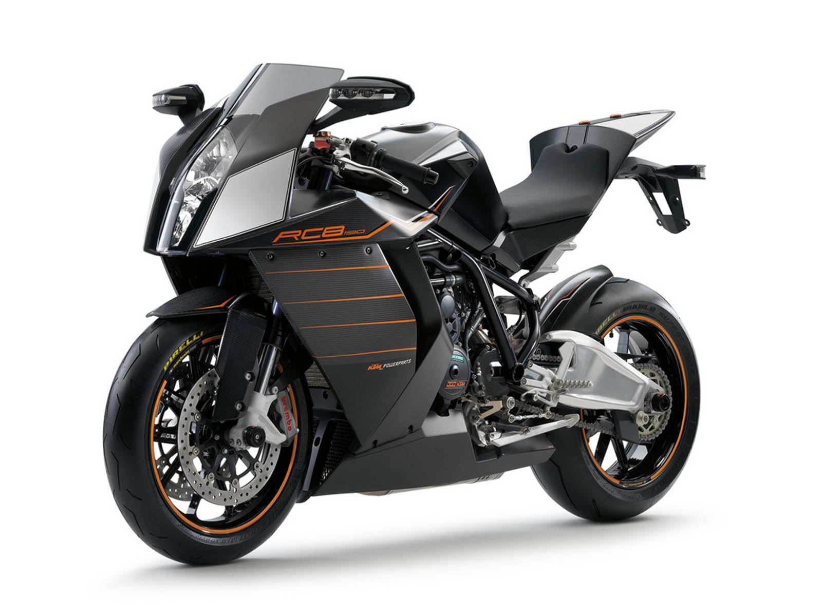 Bike Desktop Wallpapers KTM RC8 1190 Bike Desktop Backgrounds KTM 1600x1200
