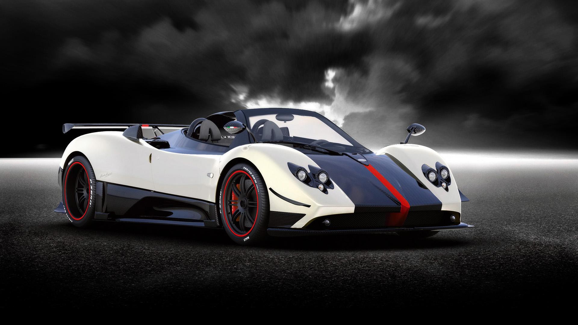 Free Download 2009 Pagani Zonda Cinque Roadster Wallpapers