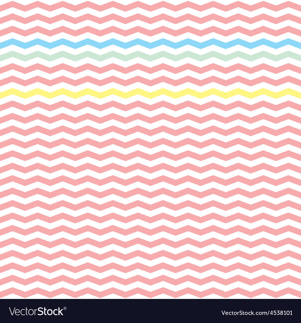 Chevron pink zig zag tile pattern wallpaper Vector Image 1000x1074