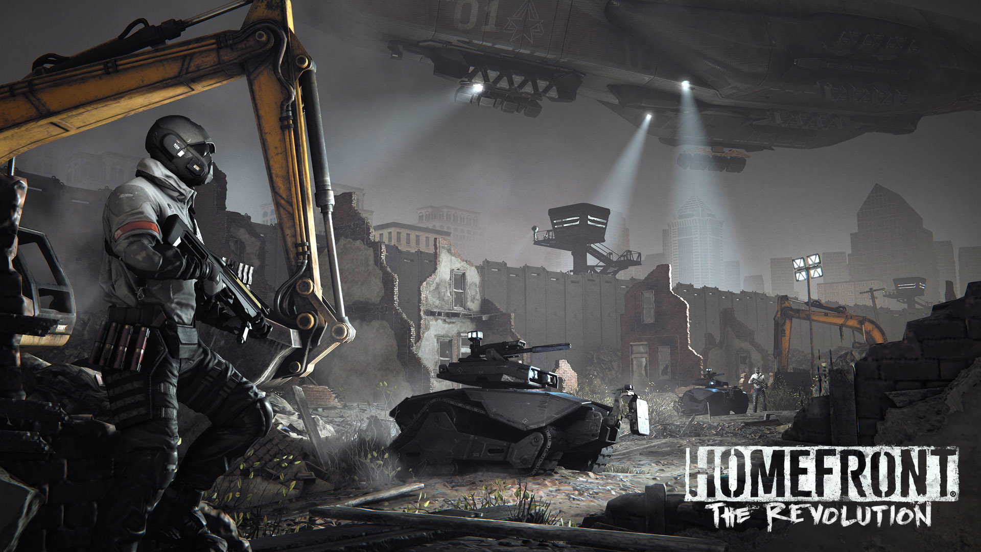 Download Best Video Game Homefront The Revolution 2015 Download Game 1920x1080