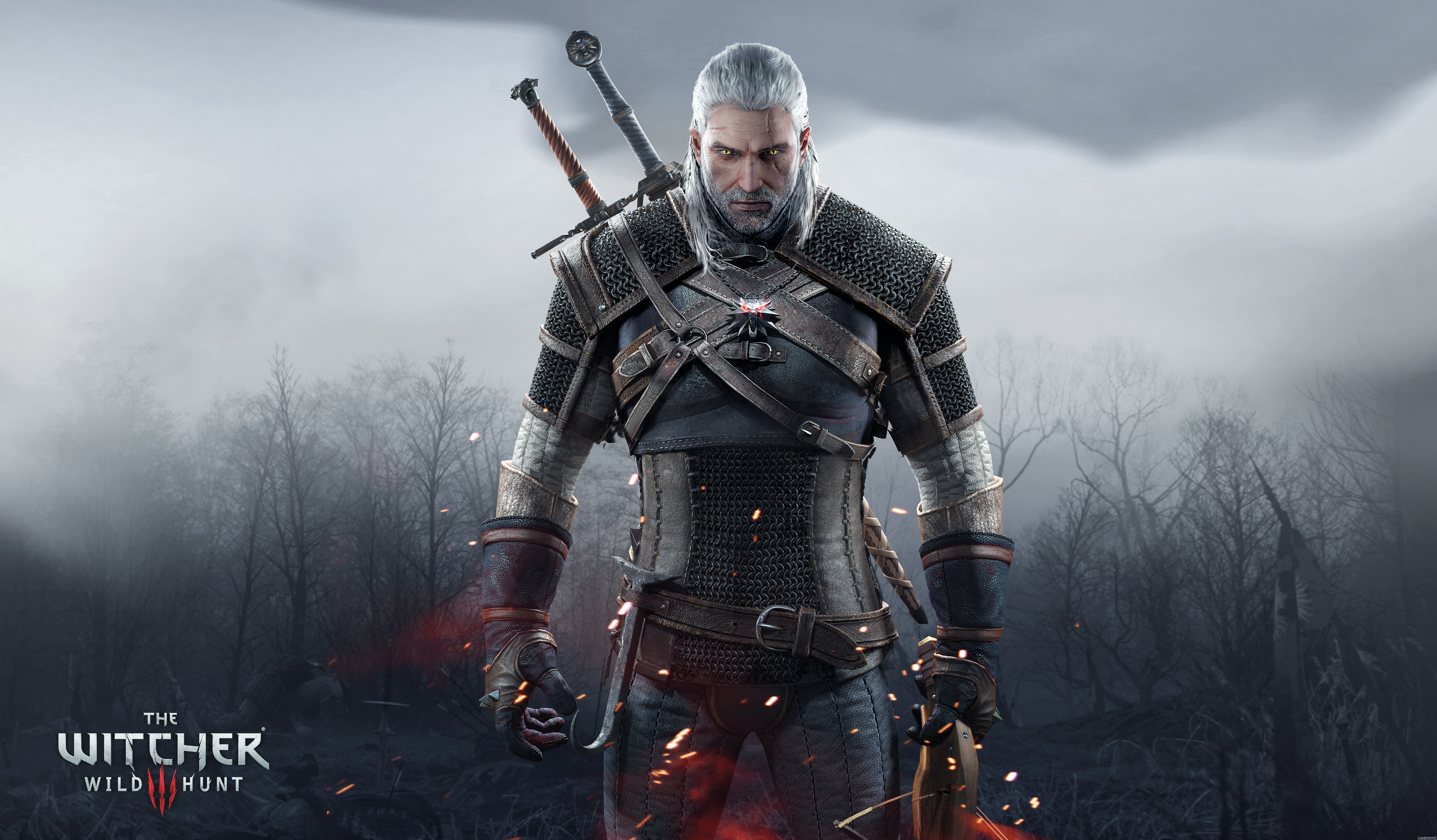 249 Geralt of Rivia HD Wallpapers Background Images   Wallpaper 8076x4722