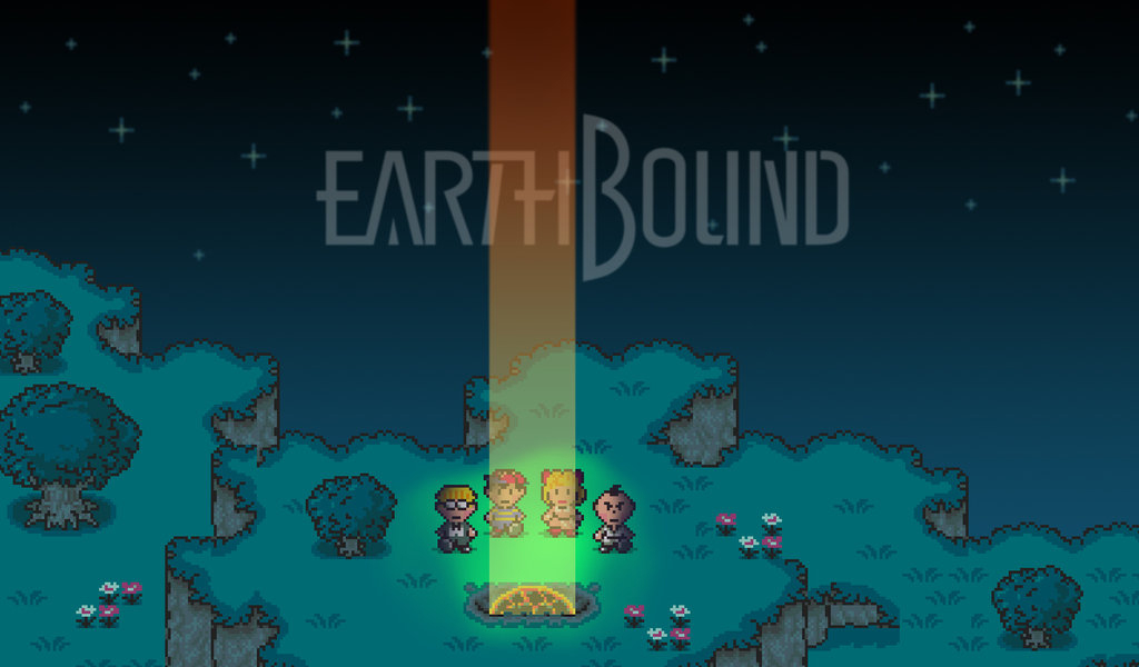 Mother 2 Wallpaper Known to some as mother 2 1024x600