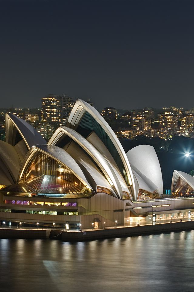 Sydney Opera House iPhone 4s Wallpaper Download iPhone Wallpapers 640x960