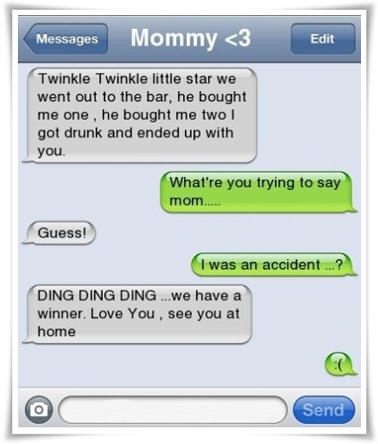 Most Awesome Wallpapers Best Mom Ever Funny iPhone SMS 551x647