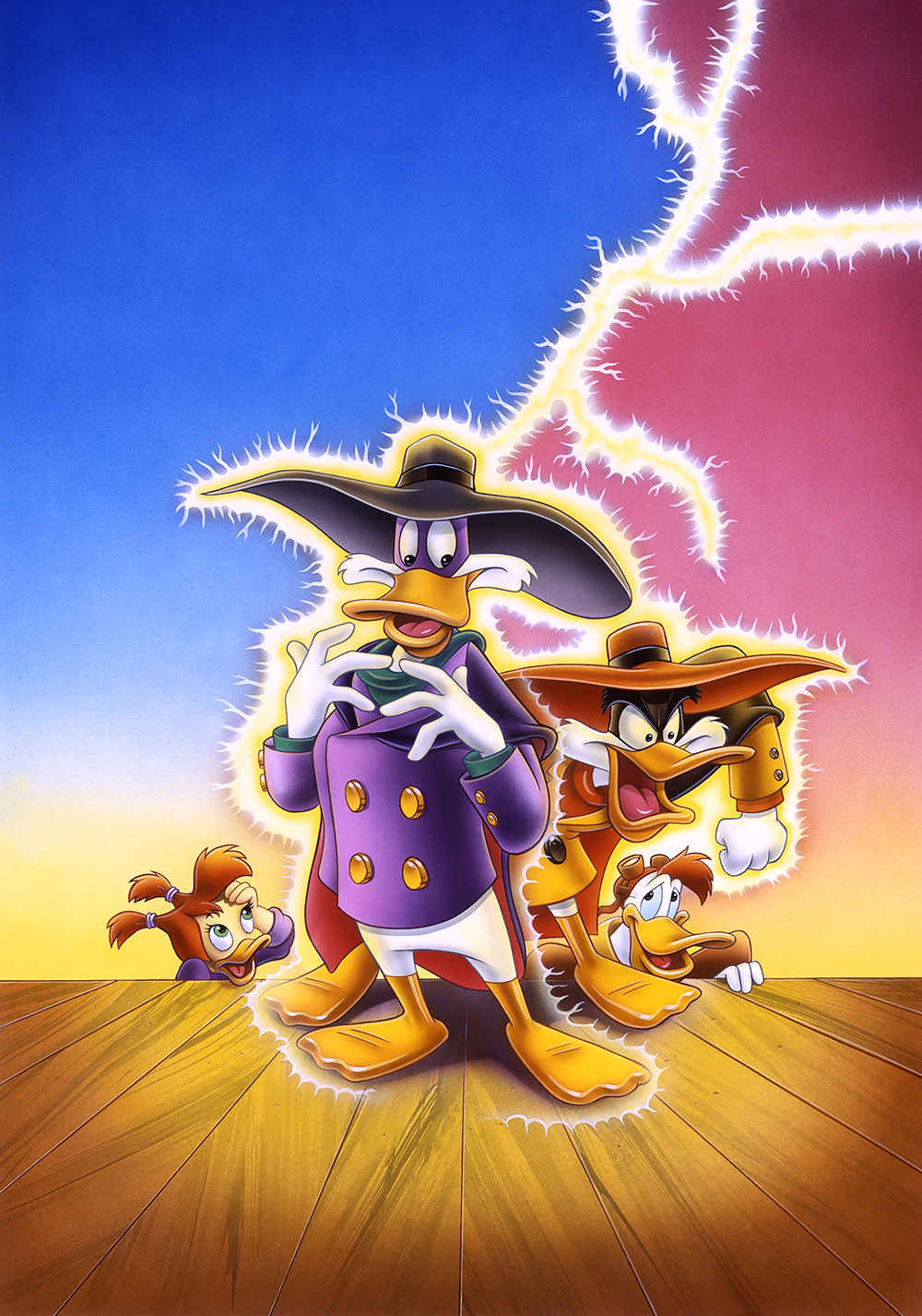 Darkwing Duck Tv Poster Image   Darkwing Duck The Birth Of 1000x1426