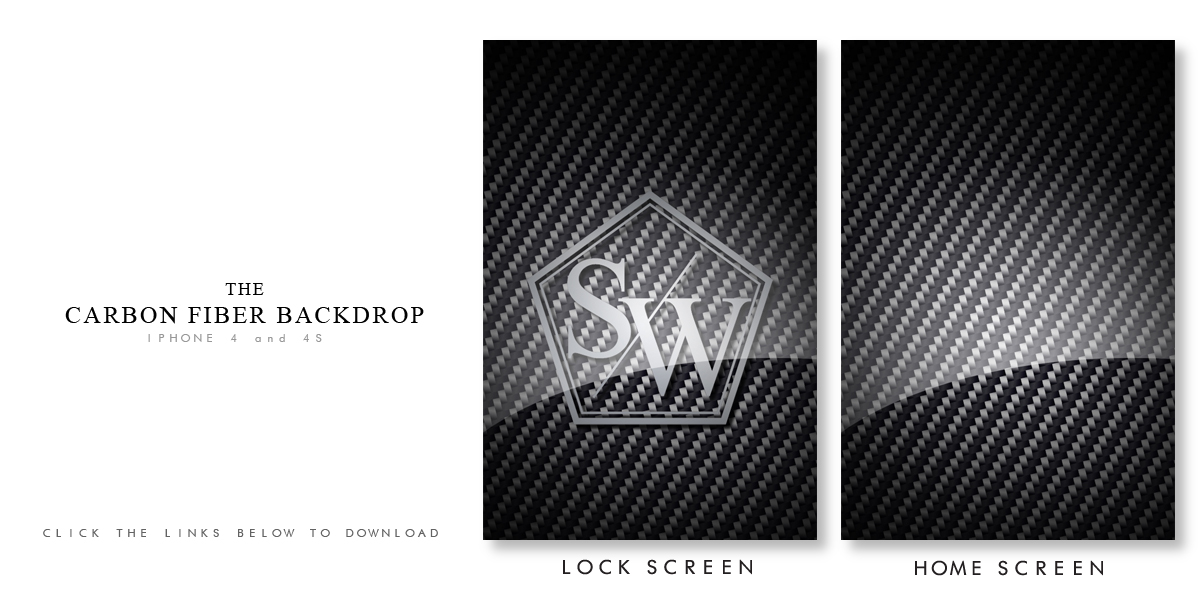 The StanceWorks Carbon Fiber iPhone Wallpaper   Stance Works 1200x600