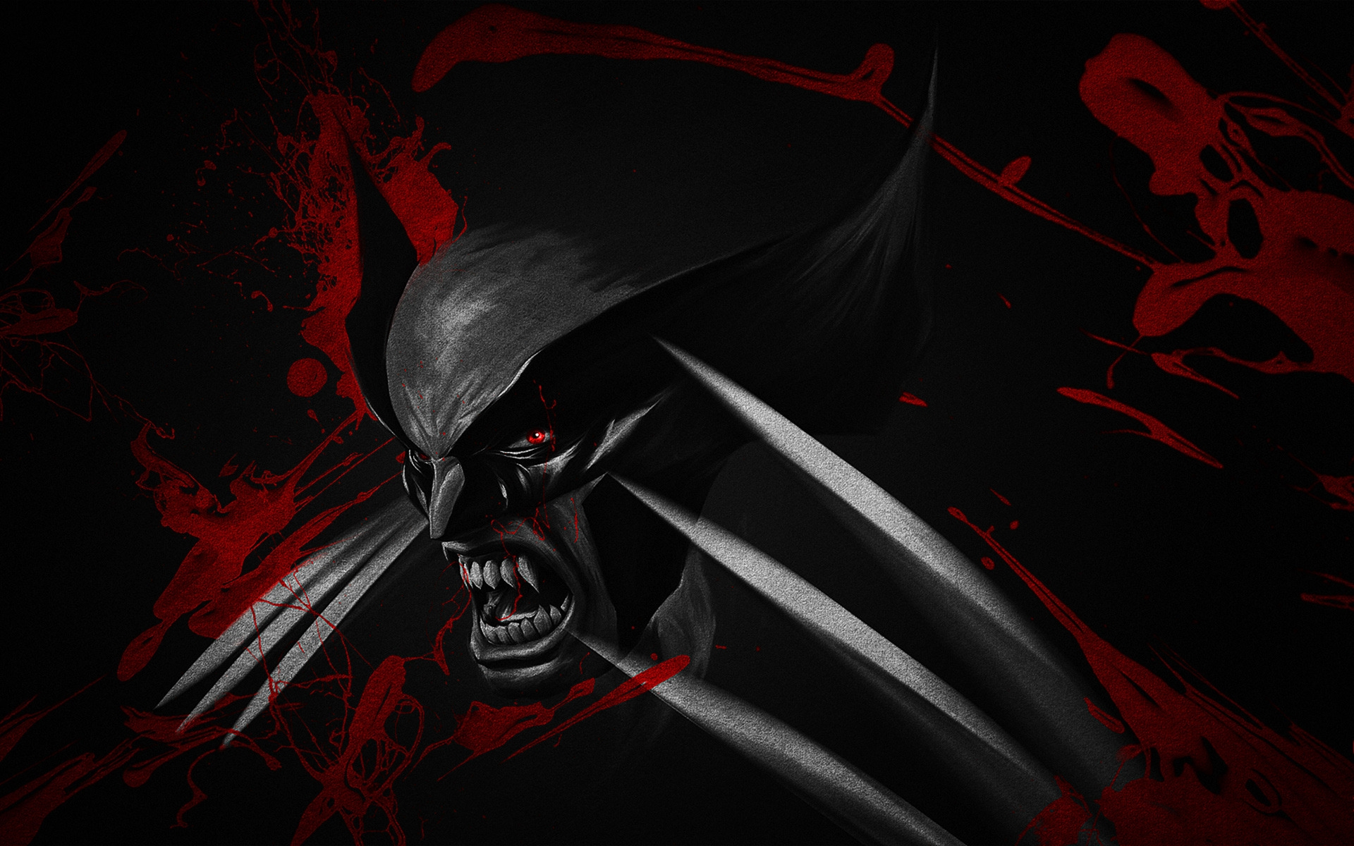 Wallpaper HD Black and Red Wolverine   HD Wallpaper Expert 1920x1200