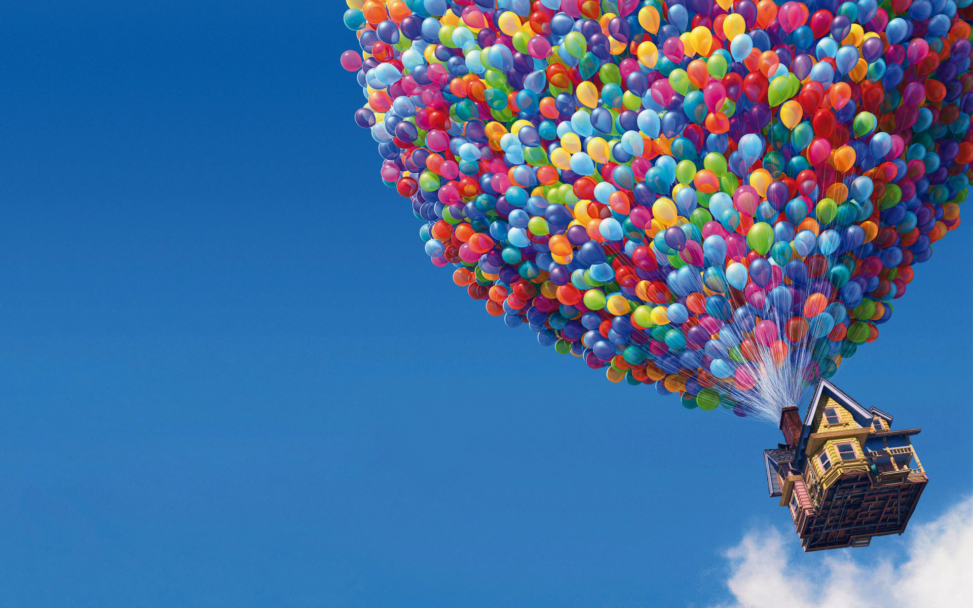 UP Movie Balloons House Wallpapers HD Wallpapers 1920x1200