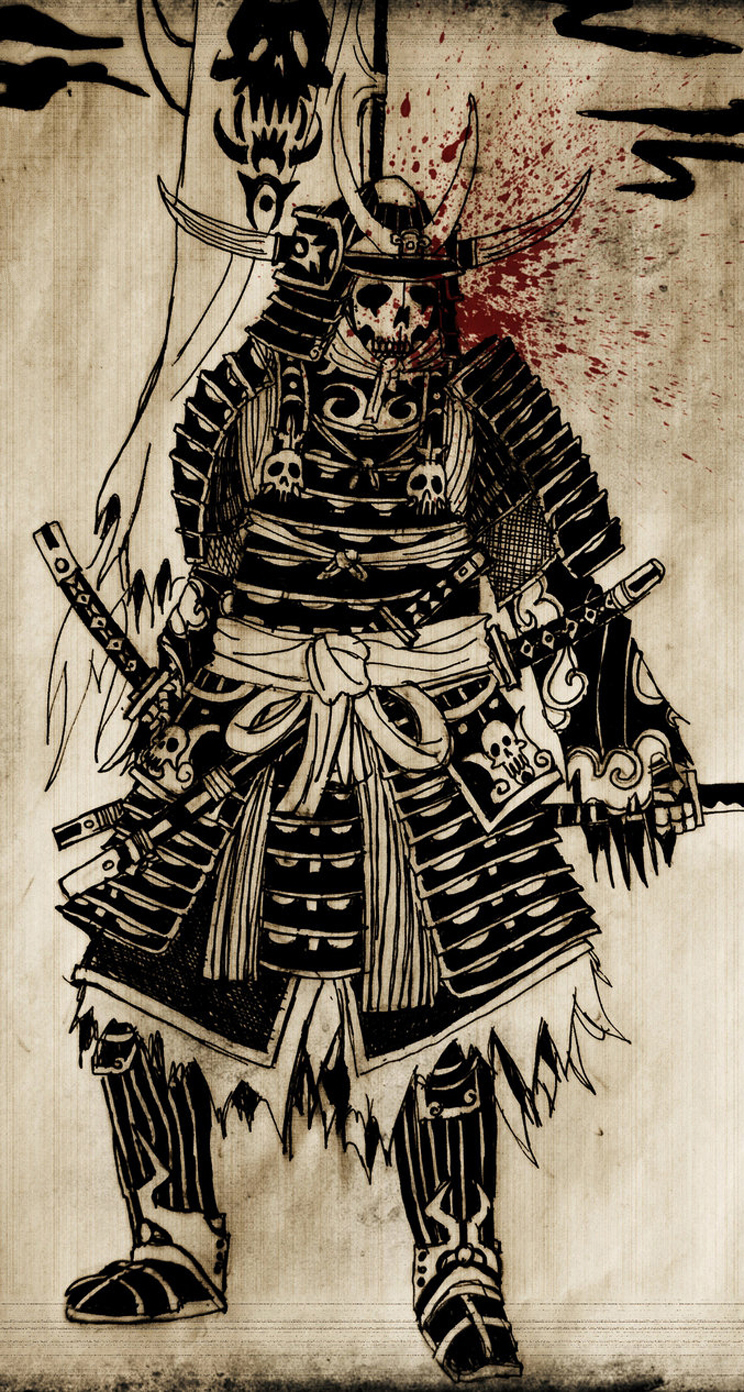 Samurai Phone Wallpaper Wallpapersafari