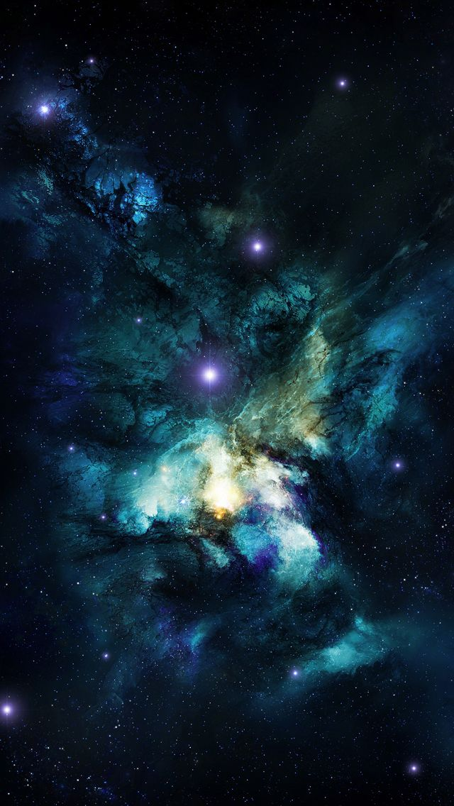 Shiny Galaxy iPhone wallpaper Iphone Wallpapers Iphone Backgrounds 640x1136