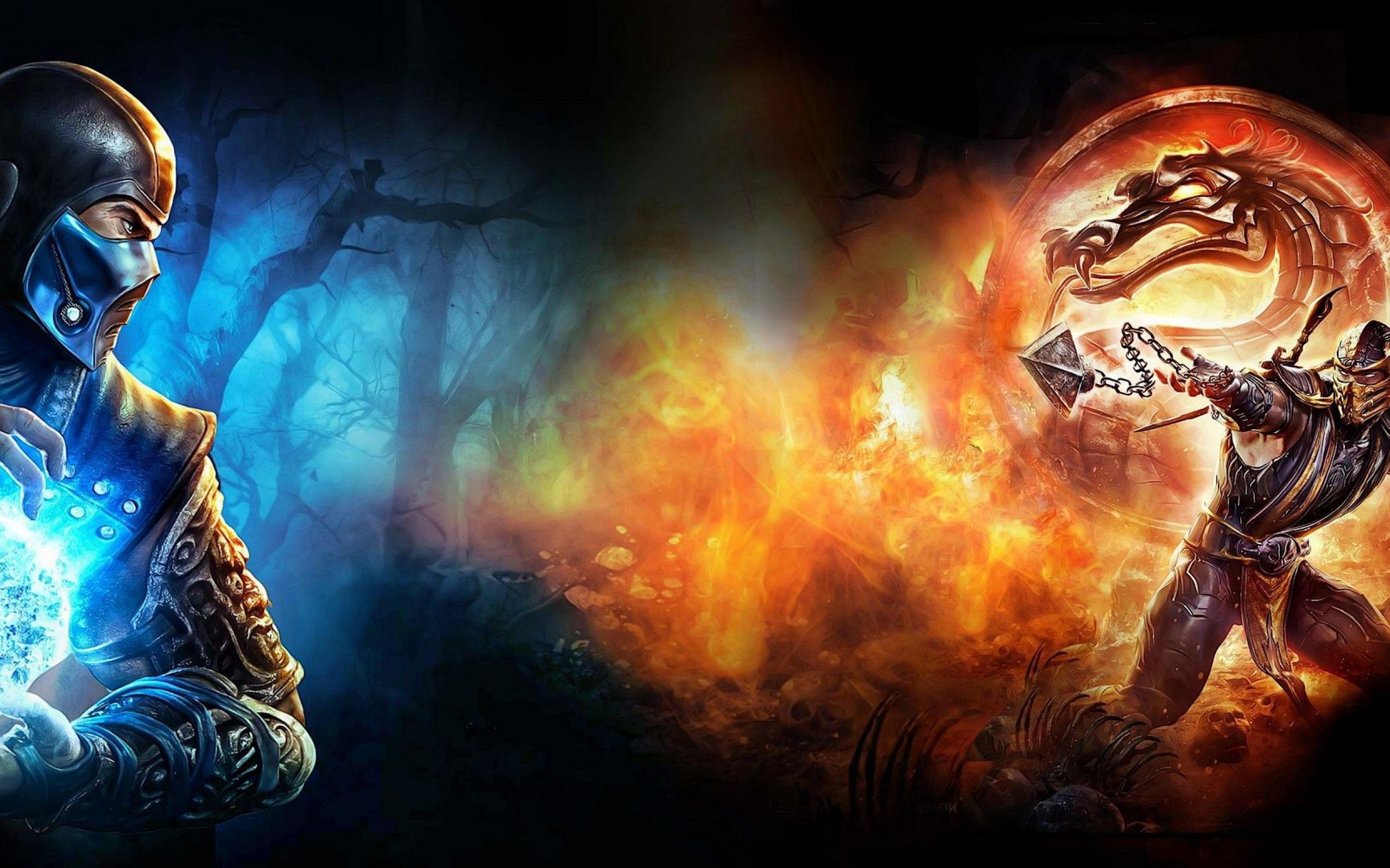 Subzero Mortal Kombat Wallpapers 7580 Wallpaper Cool Walldiskpaper 2560x1600