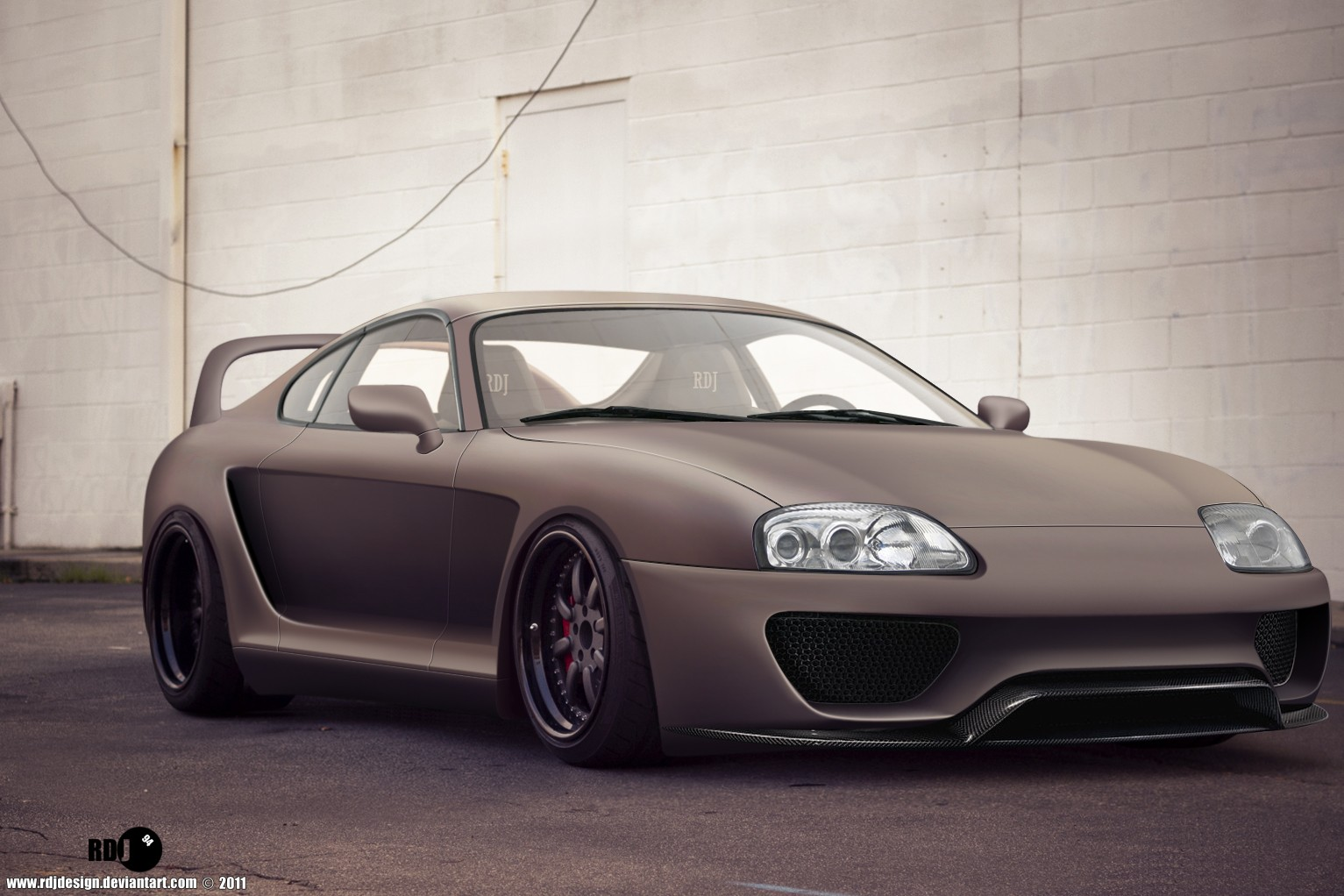 Slammed Supra Matte Wallpapers Slammed Supra Matte HD Wallpapers 1533x1022
