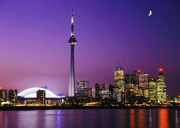 Torontonightskylinewallpaper 710x508