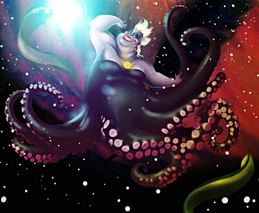 Walt Disney Characters images Walt Disney Fan Art   Ursula 1024x840