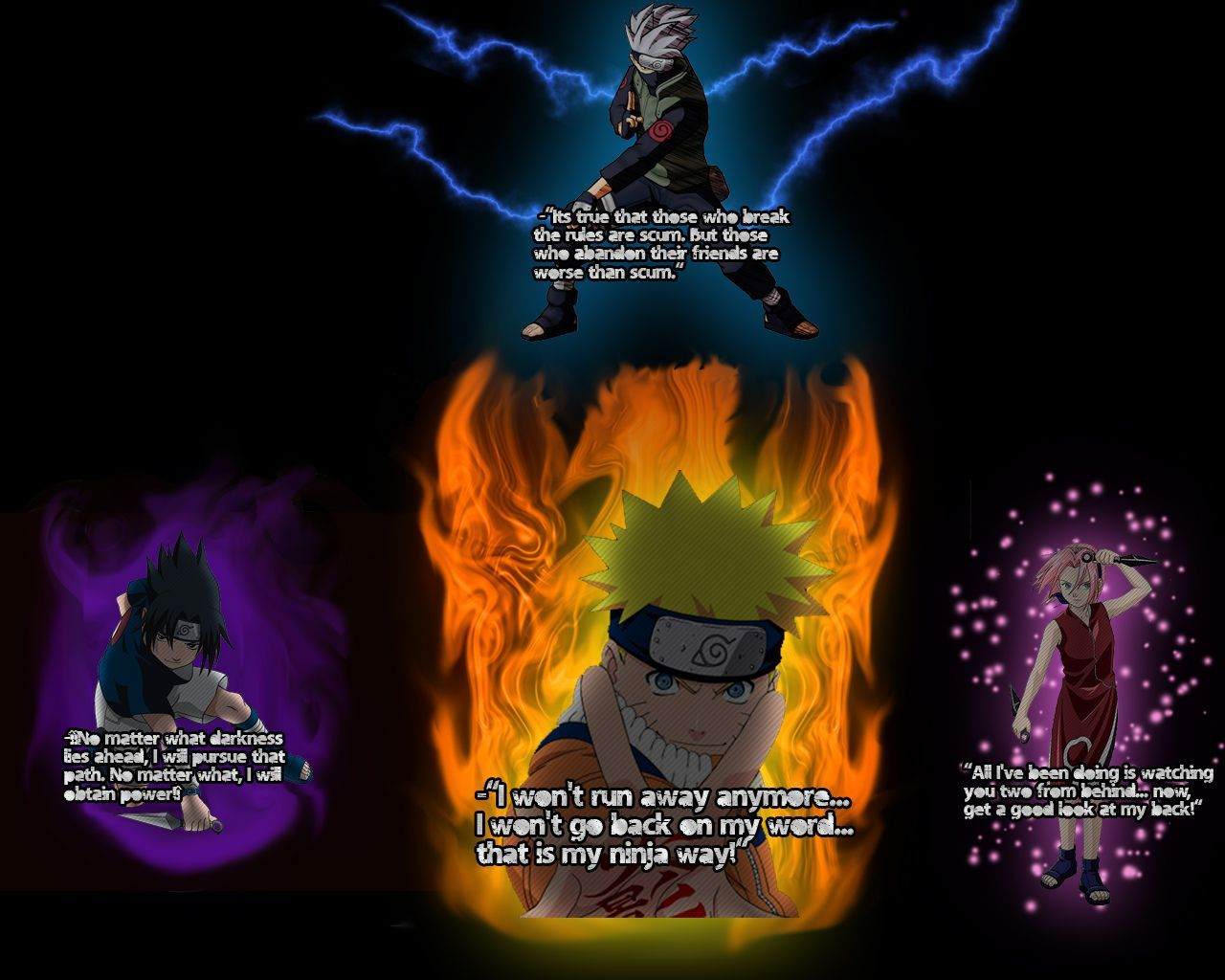 Naruto Quotes Wallpapers   Top Naruto Quotes Backgrounds 1280x1024