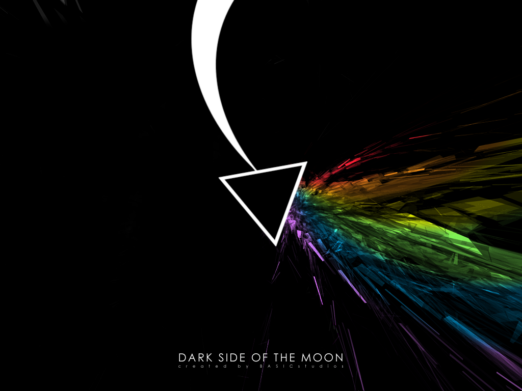 Dark Side Of The Moon by BASICstudios on deviantART 1024x768
