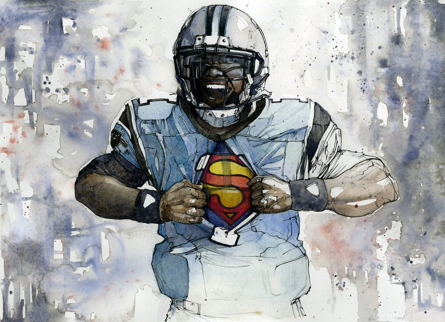 Cam Newton Wallpaper Superman Hd Wallpaper by 31andonly 900x652
