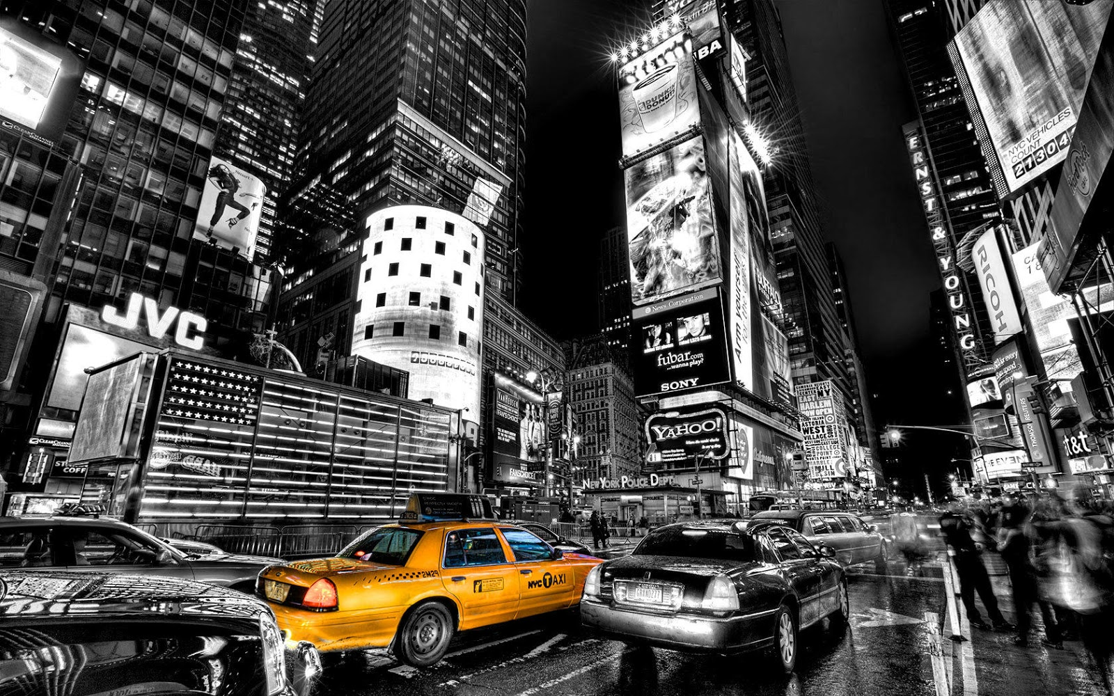Free Download New York City Black And White Photography Black And