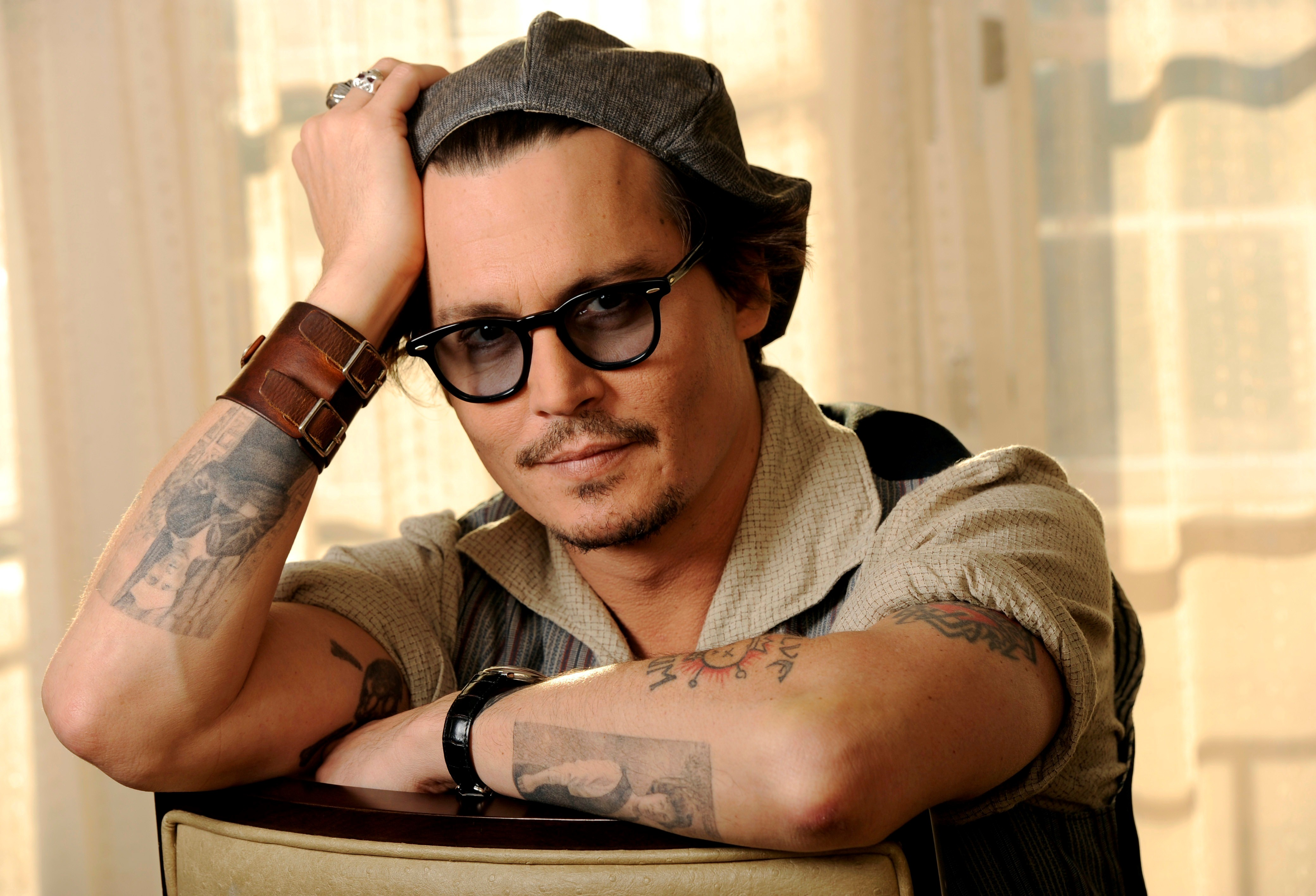 Hollywood Actor Hohnny Depp HD Wallpapers 4160x2832