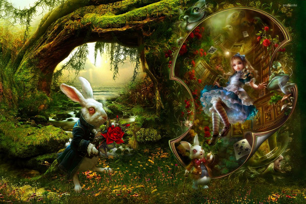 Fairy Tale Background Wallpaper 1200x800