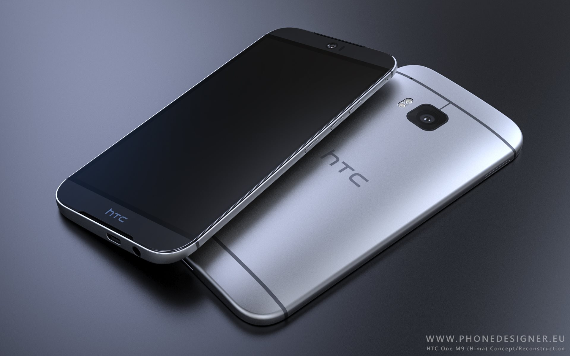 HTC One M9 renders   this phone is on fire 1919x1200