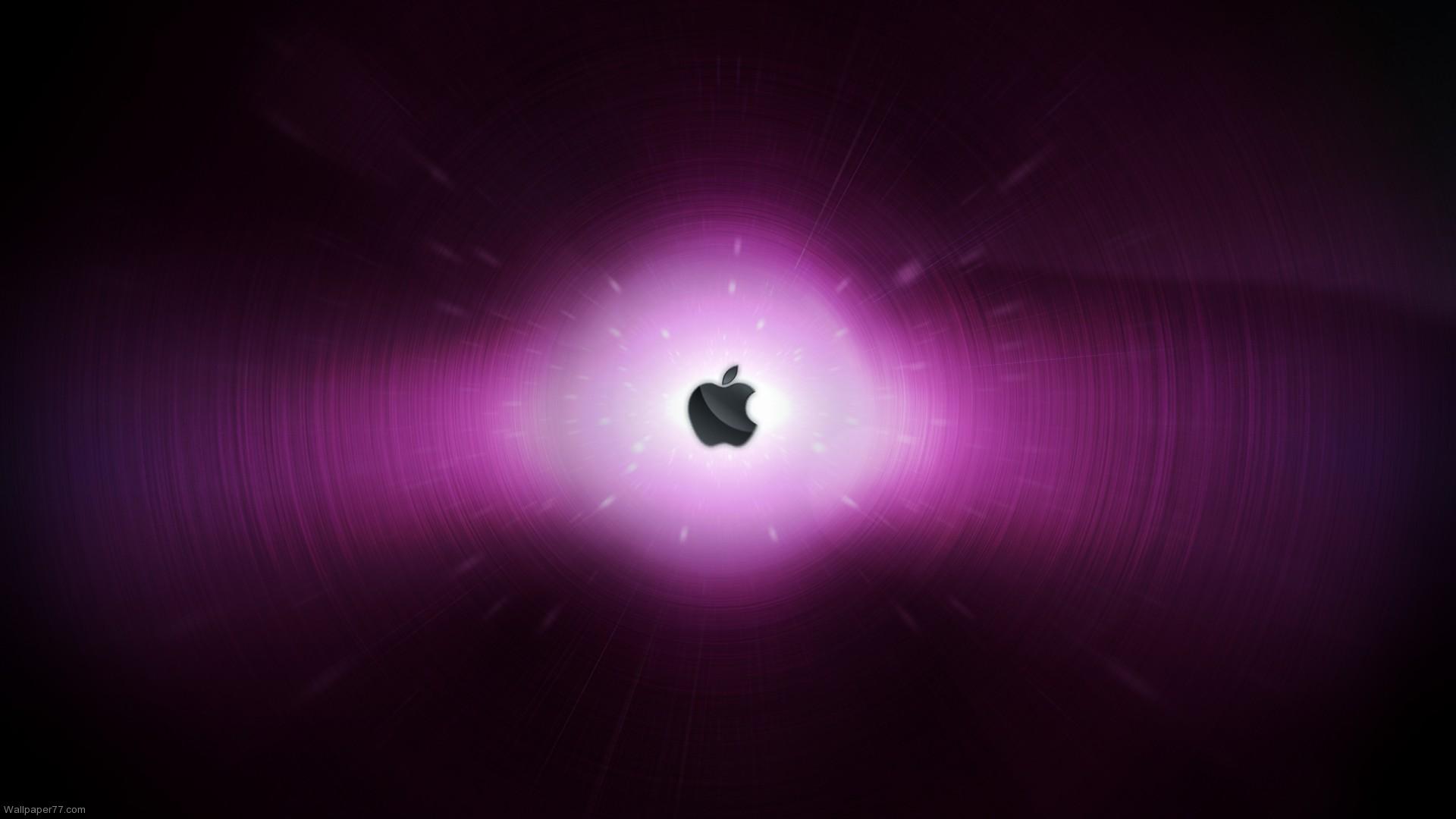 Apple in Purple apple wallpapers computer wallpapers 1920x1080jpg 1920x1080