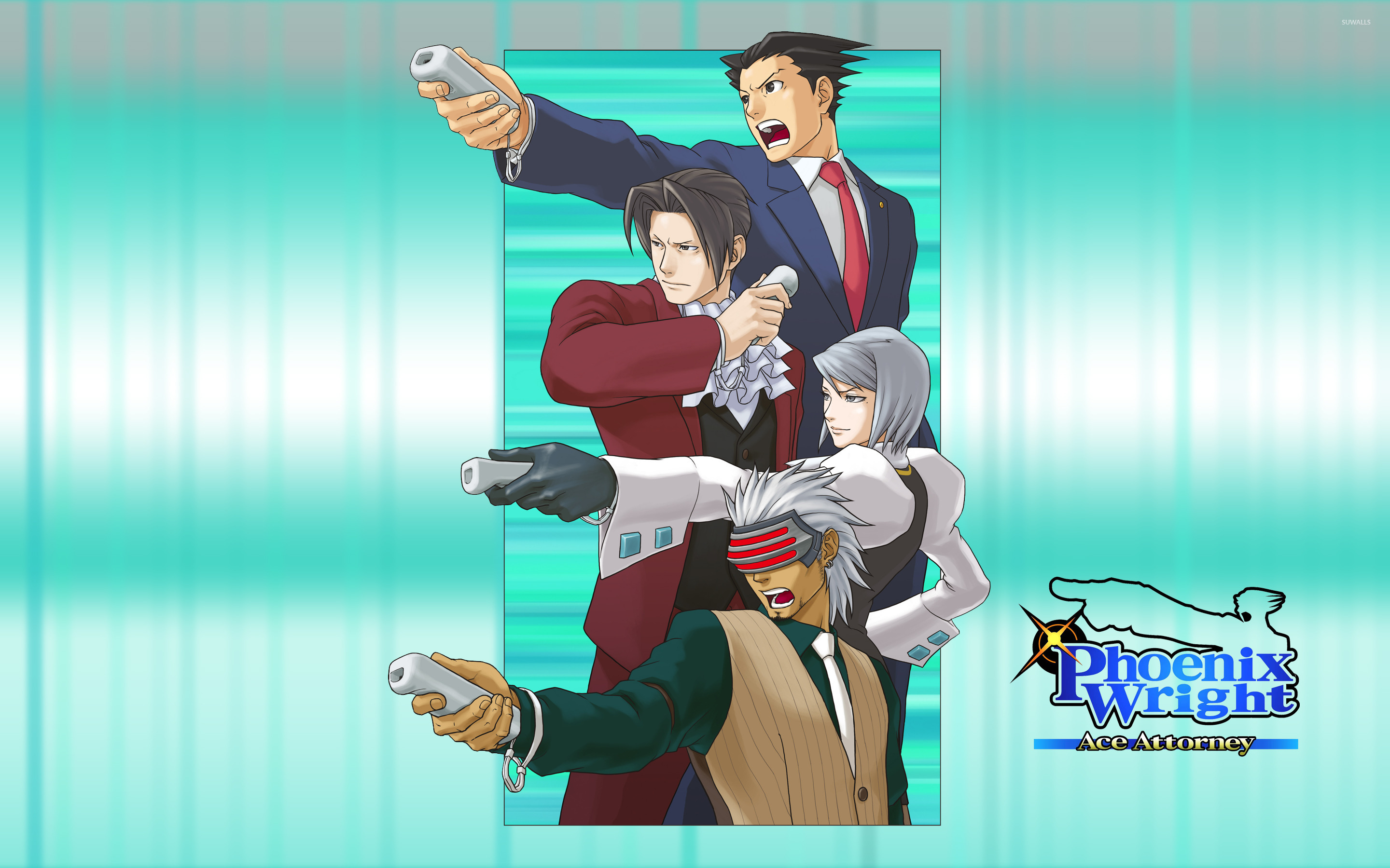 Free Download Phoenix Wright Ace Attorney Wallpaper Game