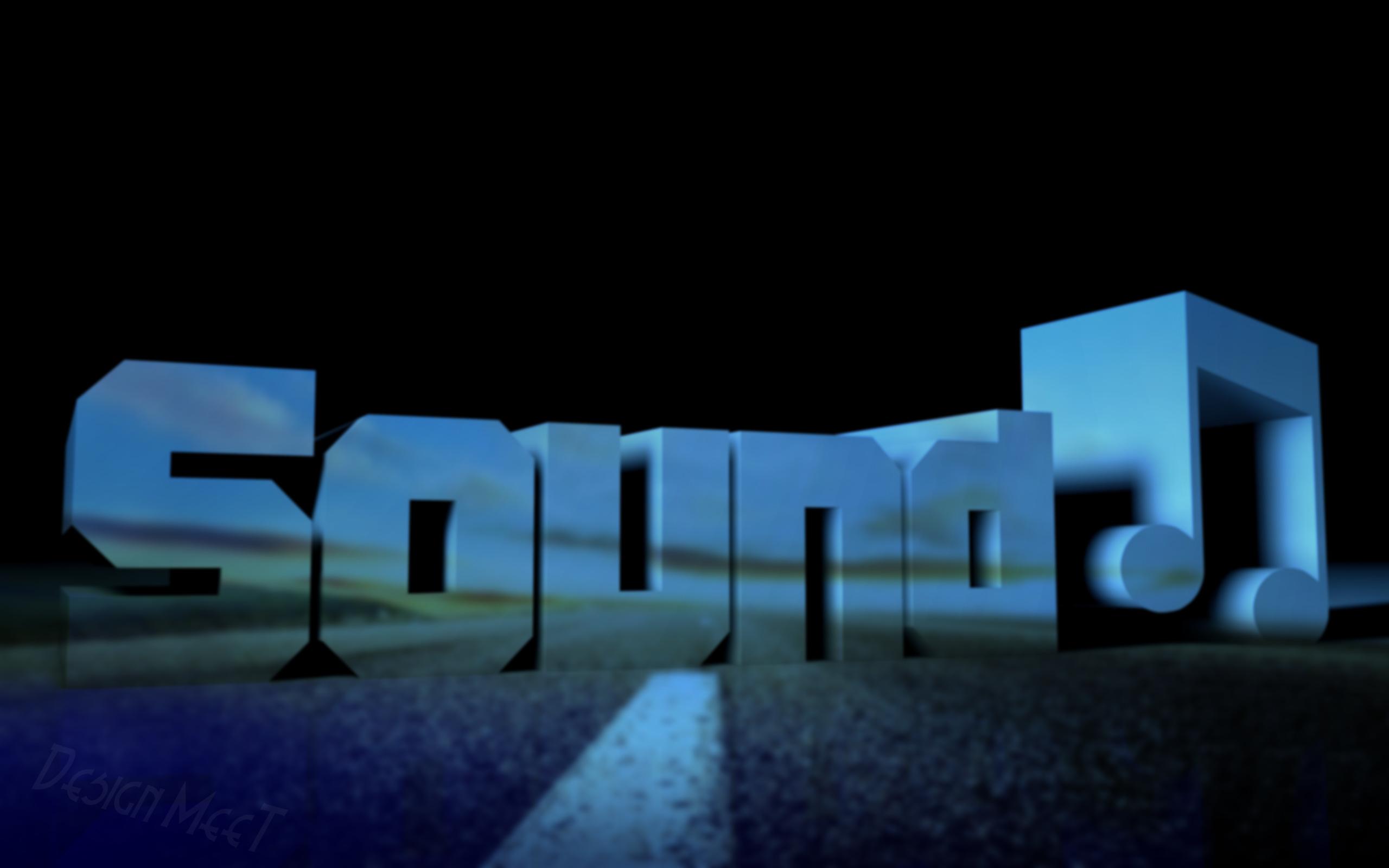 2560x1600 Sound Blue desktop PC and Mac wallpaper 2560x1600