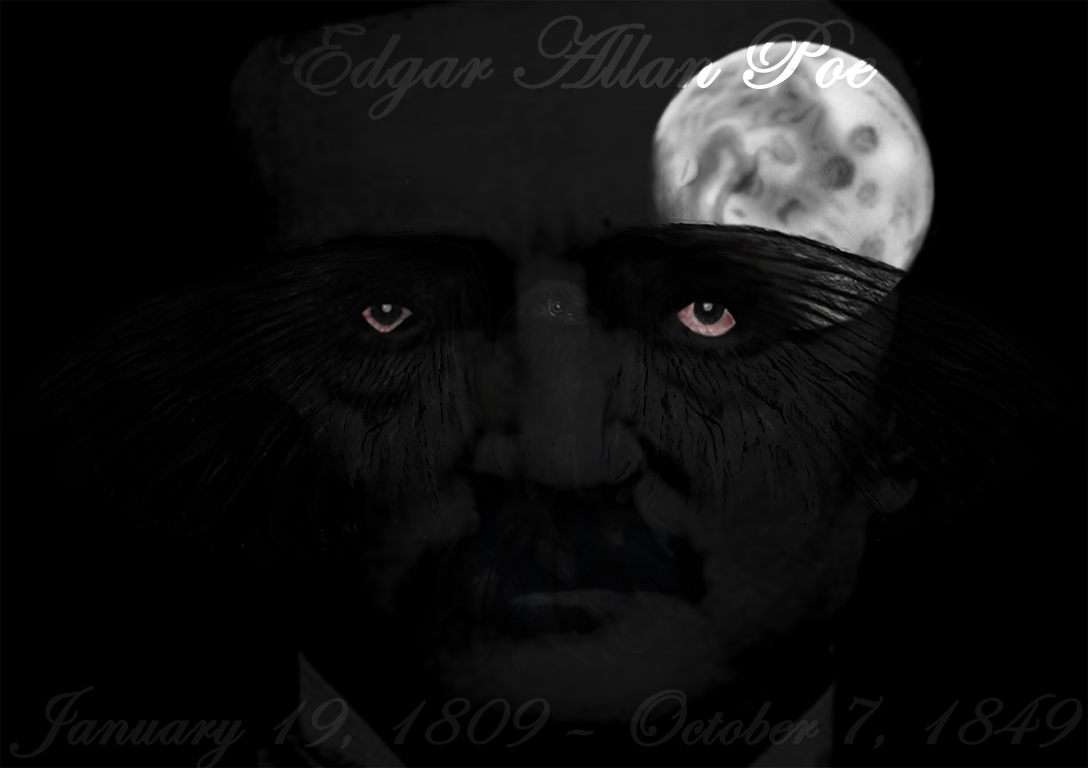 Ms wallpapers gticos Relatos de Edgar Allan Poe Edgar Allan Poe 1088x768