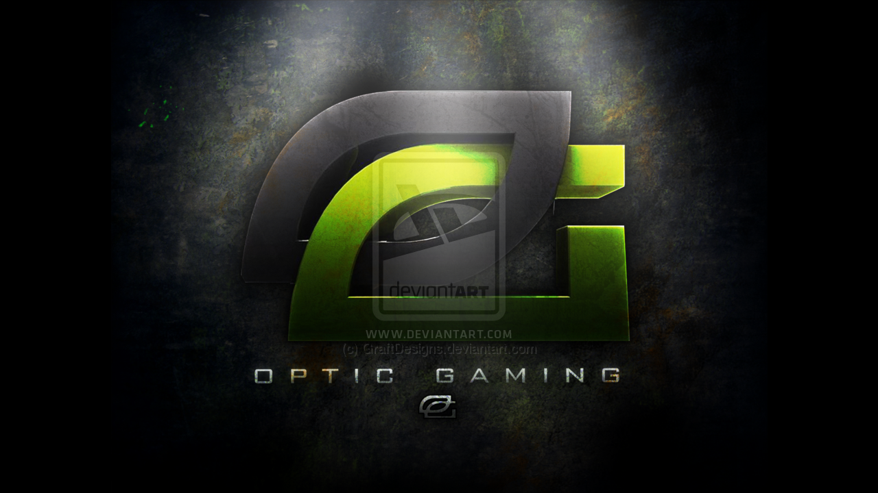 OpTic Gaming Wallpaper by GraftDesigns 1280x720