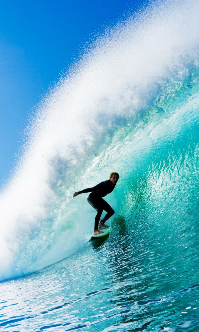 free 768X1280 Fantastic Surfing 768x1280 wallpaper screensaver preview 768x1280