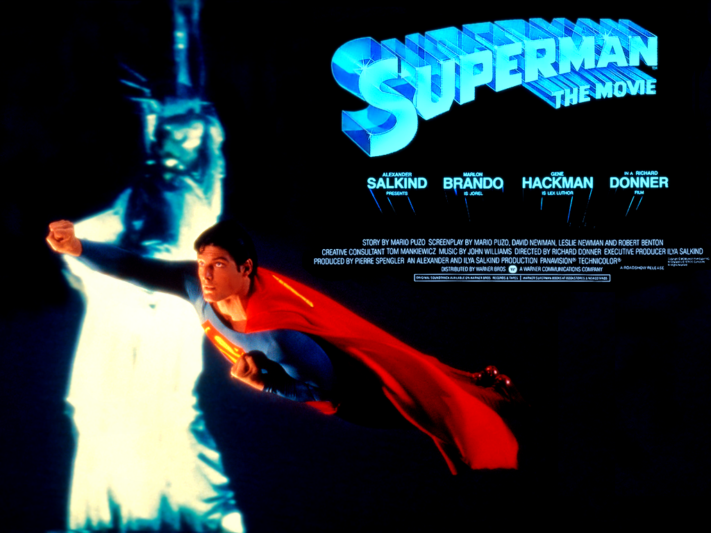 Superman the Movie Desktop and mobile wallpaper Wallippo 1024x768