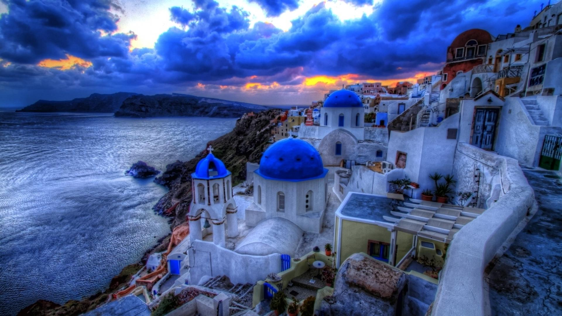 Santorini Greece Wallpapers   Top Santorini Greece 1920x1080
