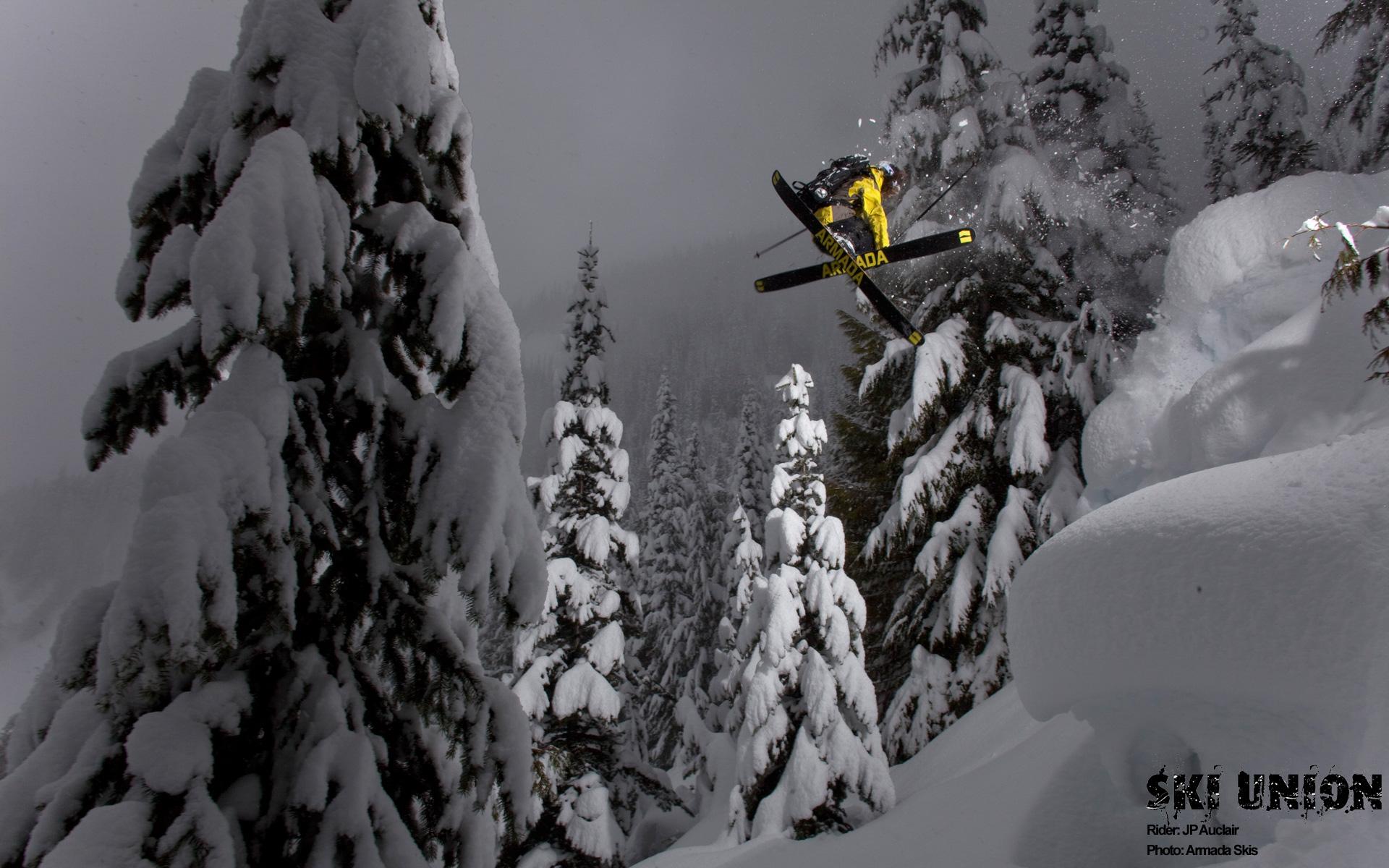 Ski Wallpaper JP Auclair 1920x1200