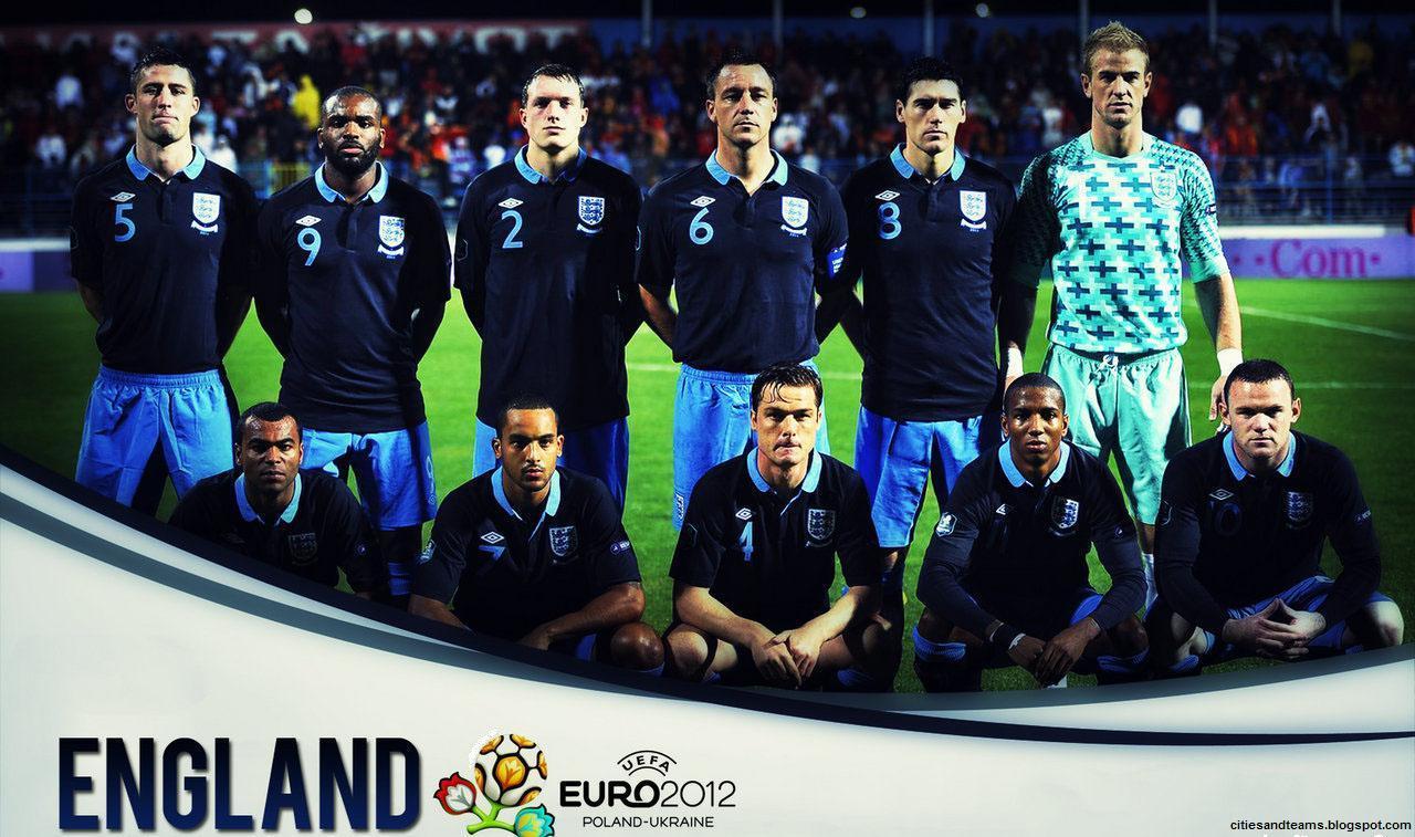 England National Football Team Euro 2012 Hd Desktop Wallpaper CaT 1280x757
