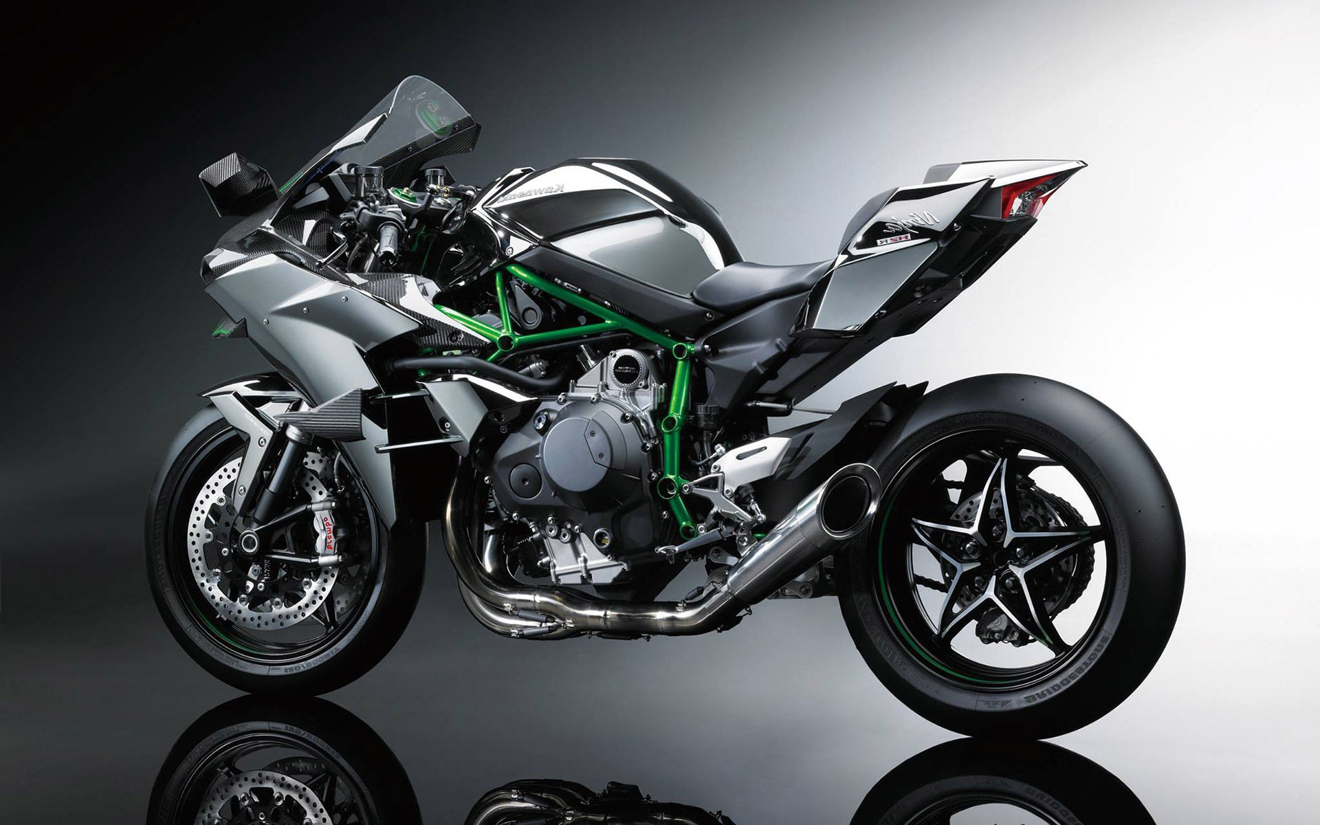 kawasaki ninja h2r wallpaper wallpapersafari. Black Bedroom Furniture Sets. Home Design Ideas