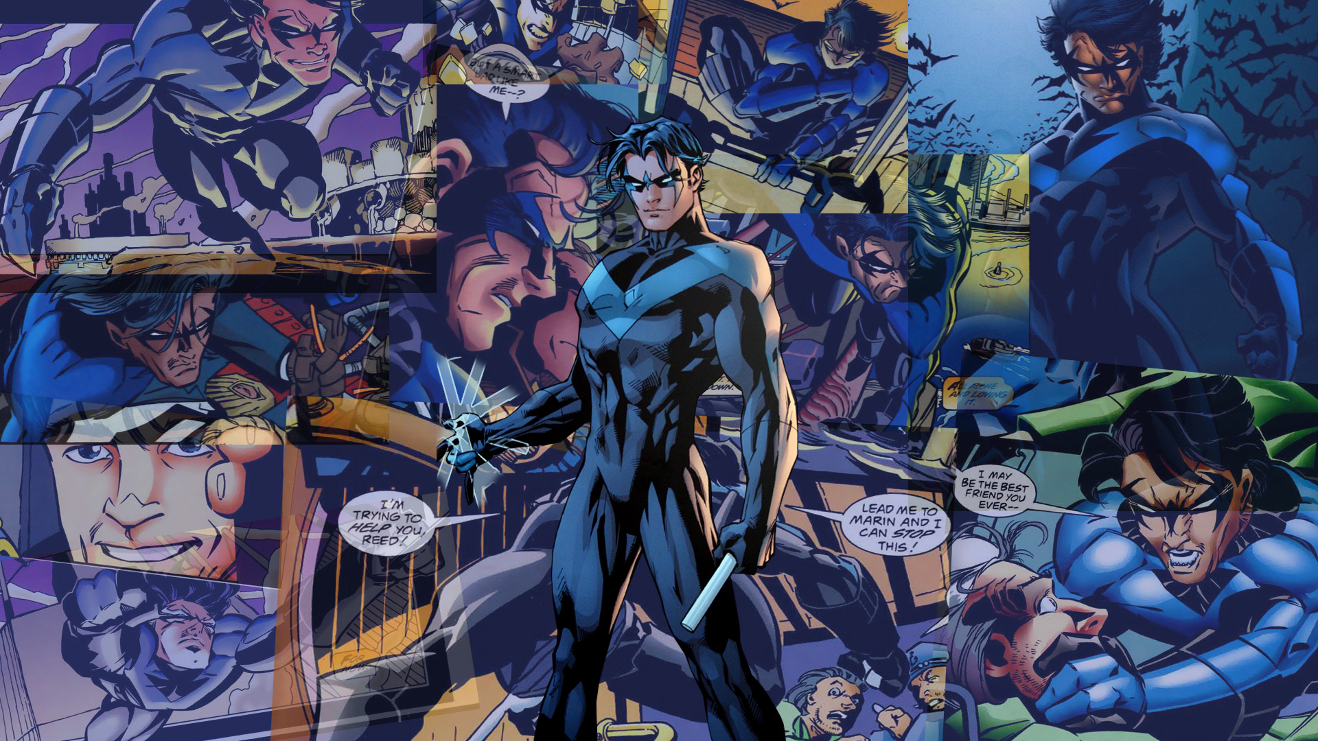 Pre New 52 Nightwing Wallpaper 1920x1080