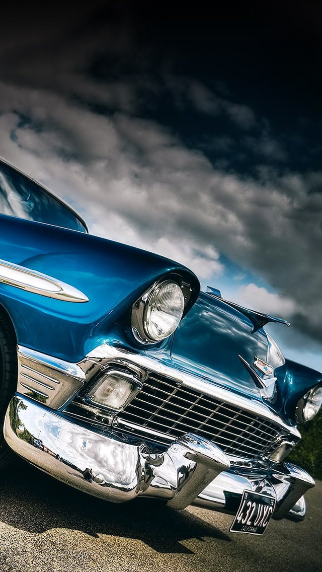 47 Classic Car Iphone Wallpapers On Wallpapersafari