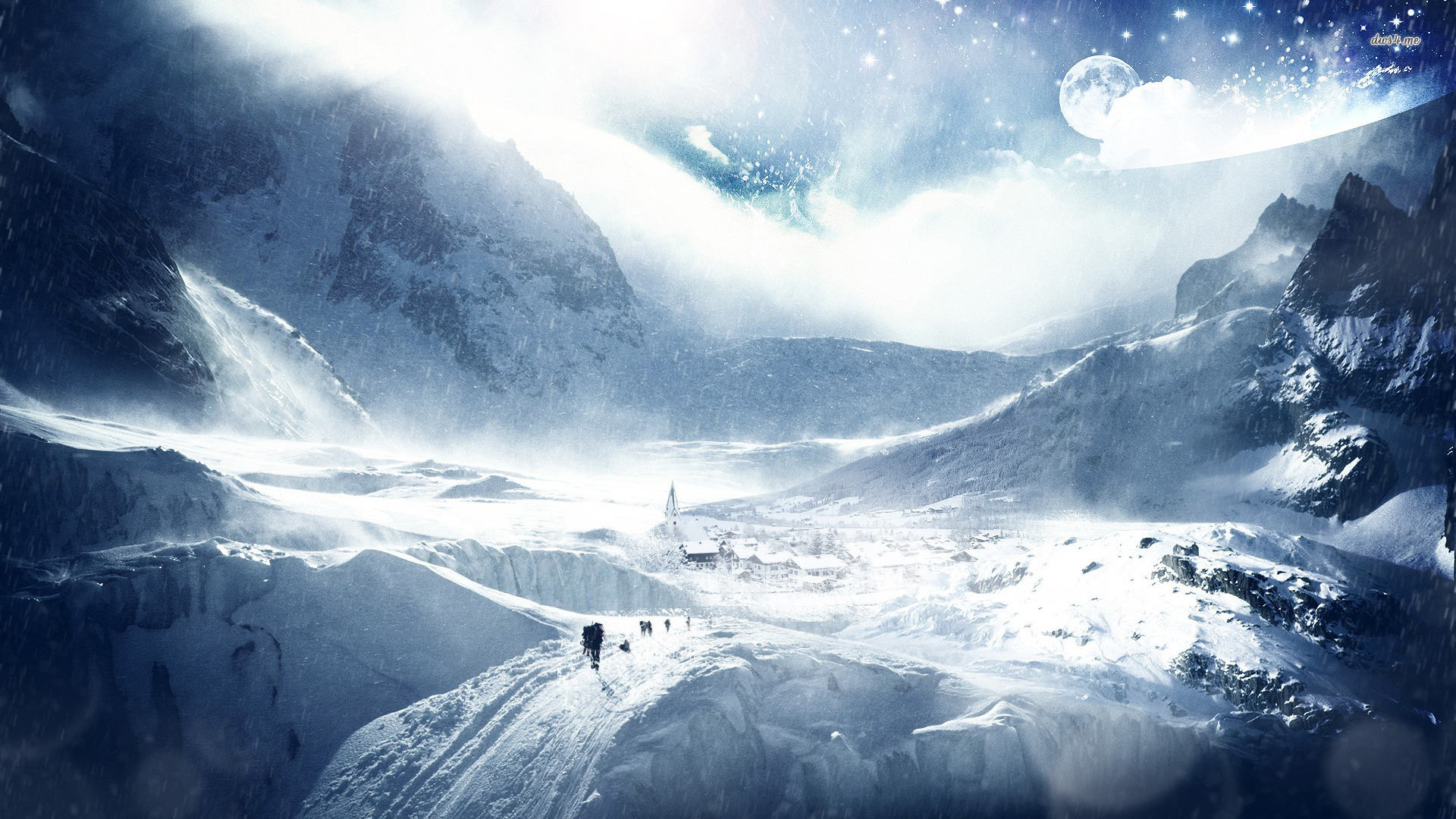 Wide HDQ Snow Blizzard Wallpapers Snow Blizzard Wallpaper 1920x1080