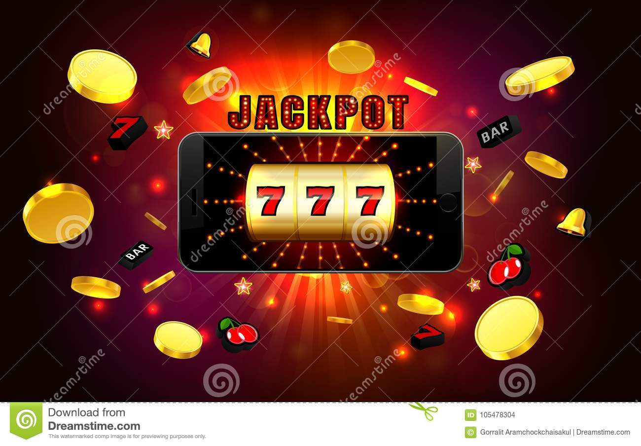 Best Slot machine with lucky sevens jackpot form lines and 1300x904