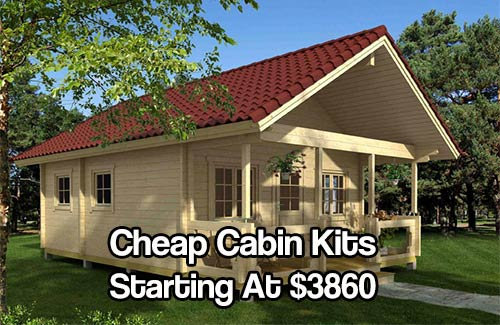 Tiny Home Designs: Cheap Log Cabin Wallpaper