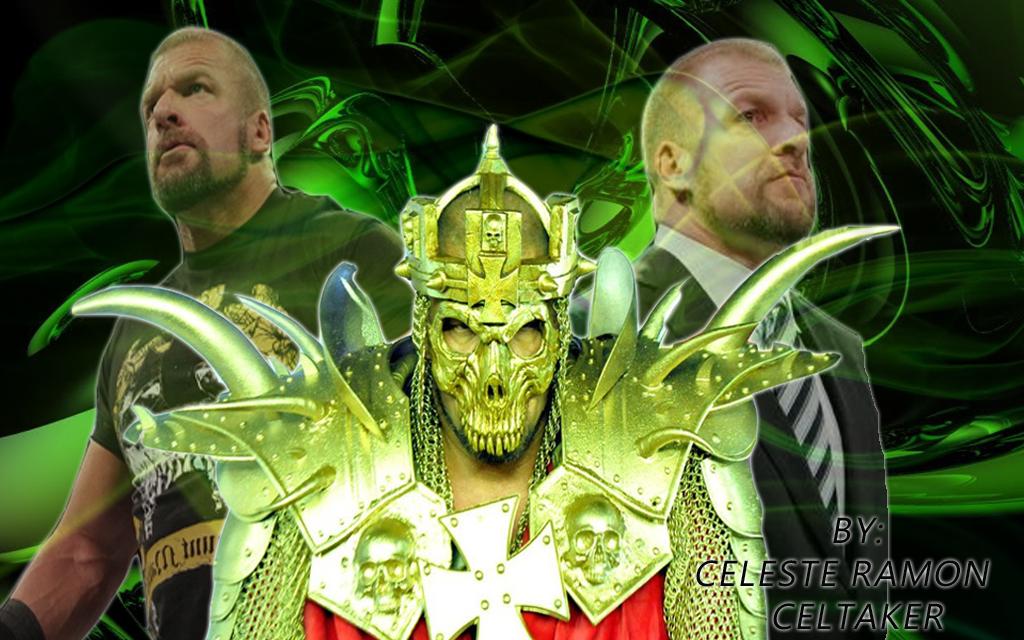 wwe Triple H King of Kings by celtakerthebest 1024x640
