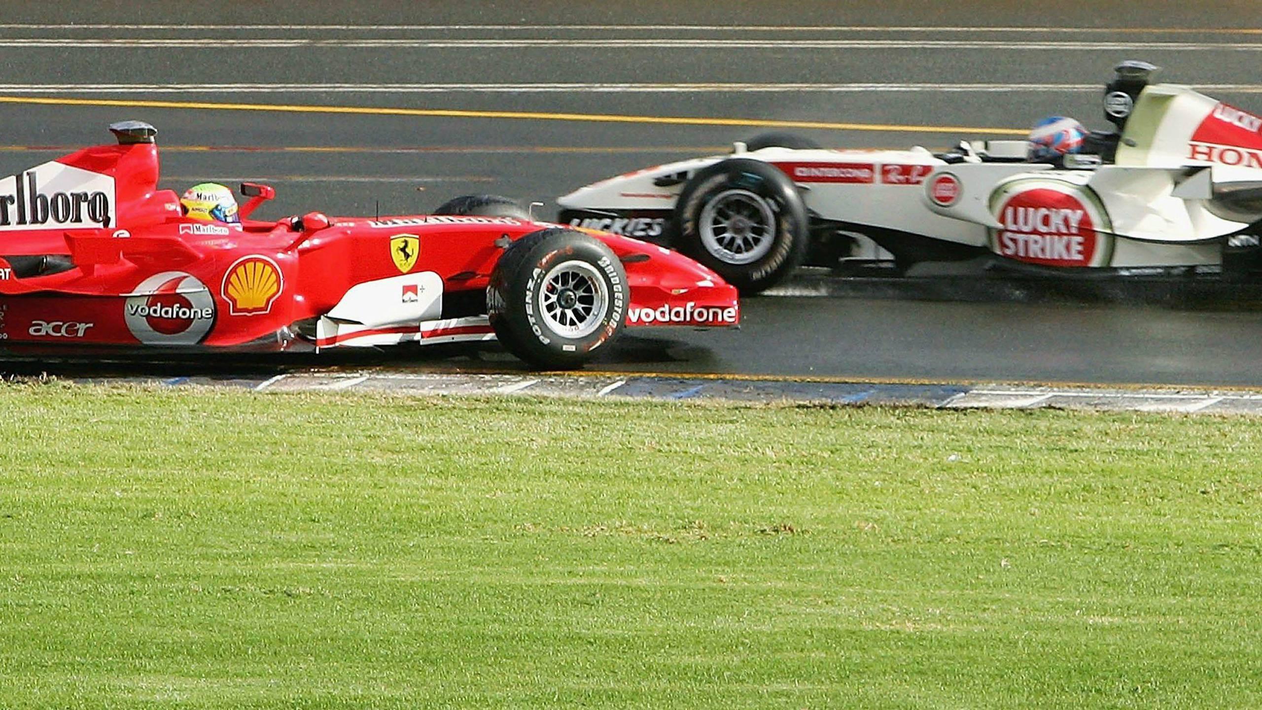 BOTPOST [BOTPOST] 2006 Ferrari 248 F1 2006 Honda RA106 Australian 2560x1440