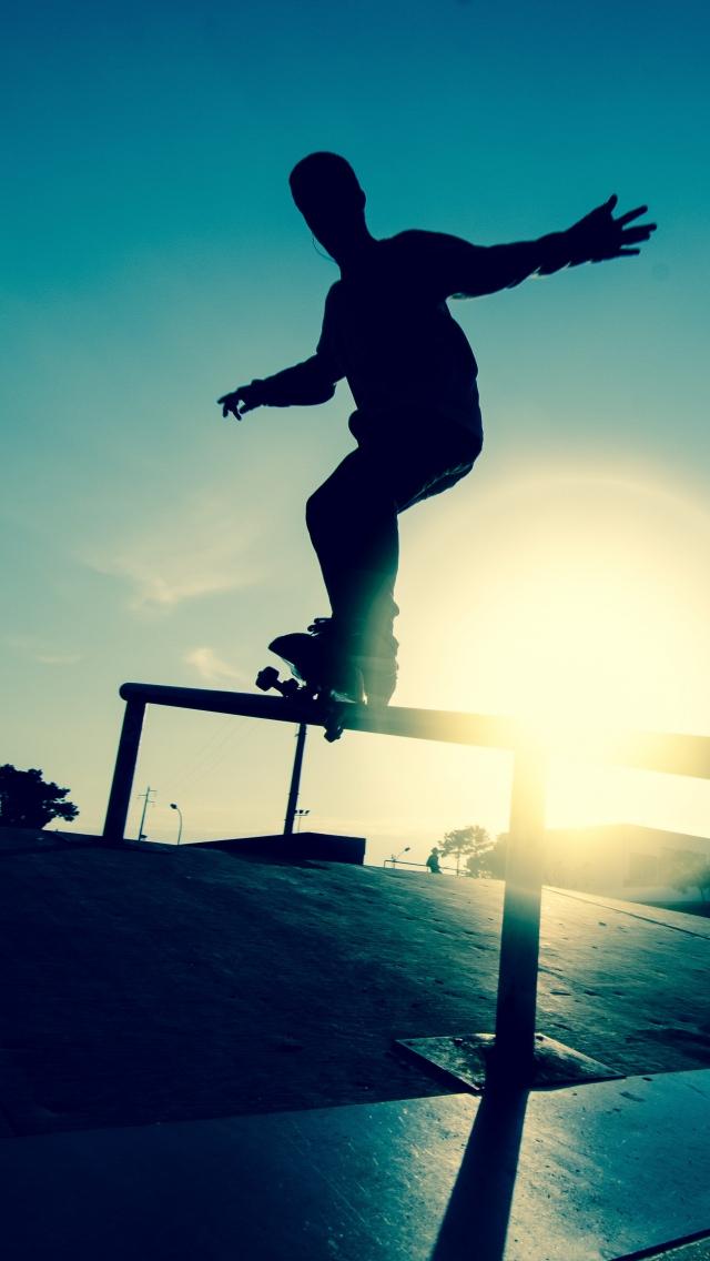 Skateboard iPhone Wallpaper - WallpaperSafari