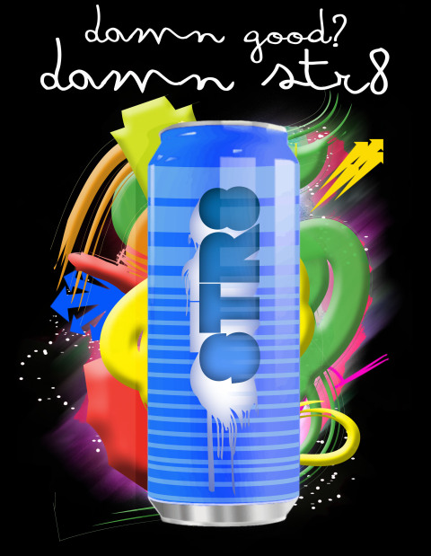 feeling of energy and liveliness perfect for an energy drink poster 480x619