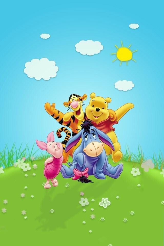 Image Result For Pooh Bear Wallpaper Wallpapersafari