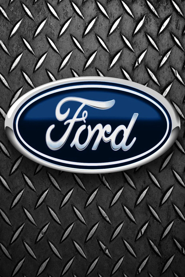 Cool Ford Logos Wallpapers Ford car logo 640x960